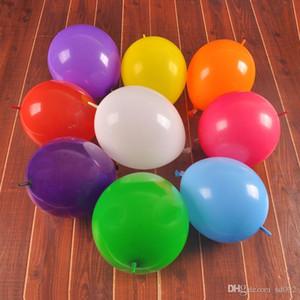 패션 12 인치 풍선 두꺼운 핀 꼬리 라운드 Airballoon 에코 친화적 인 생일 웨딩 파티 장식 풍선 많은 색상 14cd Zz