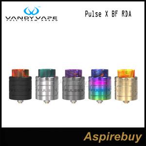 VandyVape Pulse X BF RDA-Zerstäuber, 24 mm Durchmesser, 2 ml Kapazität Unterstützt horizontale, vertikale Aufbauten für das VandyVape Pulse X BF-Kit, 100% Original