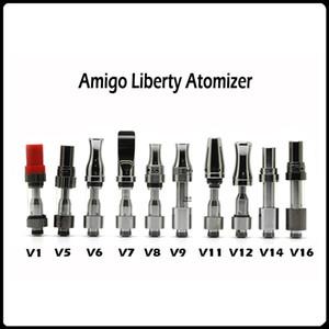 Original Itsuwa Amigo Liberty Behälter V1 V5 V6 V7 V8 V11 V12 V14 V16 510 Patronen Glas Tank Zerstäuber Dickes Öl