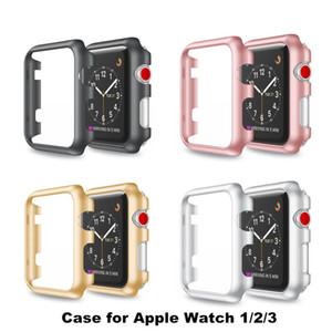 40MM 44mm وفاخرة كريستال رقيقة جدا الثابت PC الغطاء الواقي حالة شل لأبل ووتش 4 iwatch سلسلة Univesal 1 2 3 حالة