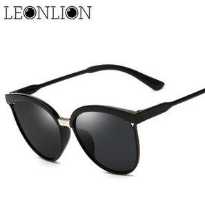 LeonLion Candies Marque Designer Cat Eye Lunettes de Soleil Femmes De Luxe En Plastique Lunettes de Soleil Classique Rétro En Plein Air Oculos De Sol Gafas