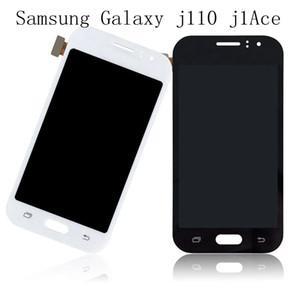 100% testi için Samsung Galaxy J1 Ace J110 SM-J110F J110H J110FM LCD Ekran Dokunmatik Ekran Digitizer Meclisi Ile Işık + Ücretsiz DHL Ayarlayabilirsiniz