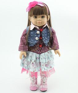 Çeşitli Stil Amerikan kız bebek 18 inç Yüksek kalite tam vinil Bebek Peri Oyuncaklar DIY Amerika Prenses Çocuk Bebek doğum günü Xmas için hediyeler