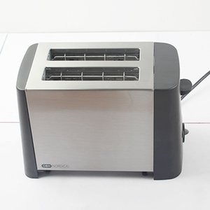 220V 800W household automatic stainless steel toaster Breakfast machine 6 files temperature control nutritious
