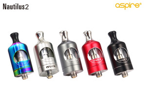Original Aspire Nautilus 2 Tank 2ML TPD Compliant Pinpoint Airflow Control 1.8ohm 0.7ohm Coils Best Fit For Zelos 50W Mod