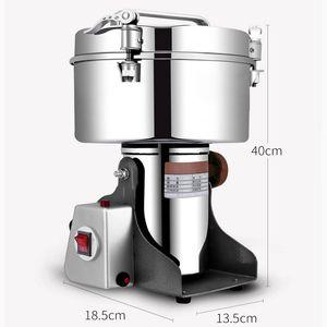 Qihang_top 4500g macinacaffè macinapepe elettrico all'ingrosso macinapepe industriale macchina per macinare polvere / peperoncino in polvere