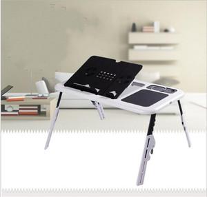 Casa Laptop Mesa Com Dissipador de Calor Usb Ventilador Ajustável Multi Função Móveis Mesa Dobrável Mesa Alta dureza Boa Qualidade 27wy ii