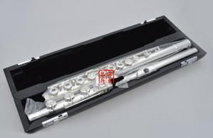 Sankyo CF201 FLUTE ETUDE In-Line B Coda E Key Split Placcato argento Flute C tone 16 e 17 fori Open French Key Flute