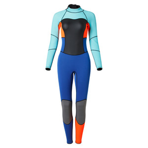 3mm neoprene women's one piece diving wetsuit professional wetsuit diving suit good quality neoprene scuba diving wetsuit