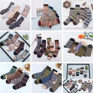 Yün Çorap Yeni Stil Kadın Erkek Kış Termal Sıcak Çorap Moda Renkli Kalın Çorap Bayanlar Kızlar Retro Tavşan Yün Rahat Çorap BAB59
