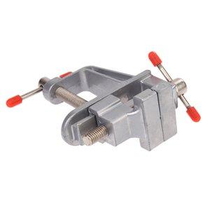 """3.5 """"Vice-Aluminium Miniature Vice Clamp Portable Profession Étau pour tenir les petites pièces Outil de fabrication de bijoux"""