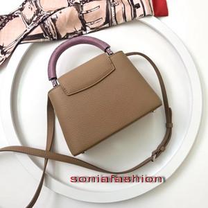 Новые Марка МОДА СТИЛЬ женщины мешок натуральная кожа дизайнер с ручками и длинном ремне женщины сумка