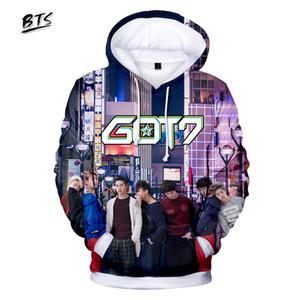 Imprimir Hoodies Kawaii 3D Got7 camisola de manga comprida Vestuário 2,018 capuz Harajuku Kpop Casual Hip Hop Plus Size Q0794