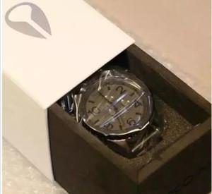 2017 dos homens 51-30 relógio de quartzo a083-1062 chronon matte black dial pulseira de aço inoxidável caixa original do cronógrafo