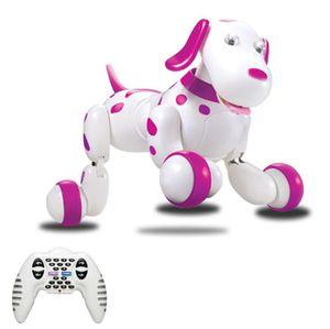 RC cão ambulante 2.4G Controle Remoto Sem Fio Inteligente Cão Pet Eletrônico Educacional Toy Robot Dog Bom Presente Para As Crianças