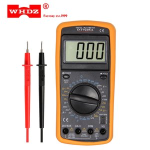 HDZ DT9205A Professional Digital Multimeter Electric Handmeter Competition Capacitance Capacitance Hfe Tester AC DCD