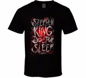 Docteur sommeil film affiche t-shirt t-shirts décontractés imprimer vêtements noirs o - cou hommes porter t-shirts vêtements hauts t-shirts