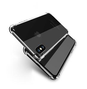 غطاء وسادة خلفي متين من السيليكون لهواتف ايفون 11 برو ماكس XS XR X 8 7 6 بلس ، سامسونج جالاكسي S10 S9 S8 Note 10 9