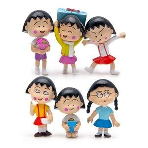 Sakura Momoko Mini Bonito Boneca Crianças Aniversários Presentes Miniaturas Jardim Desktop Decoração Artesanato Figuras Coleção Modelo Brinquedos