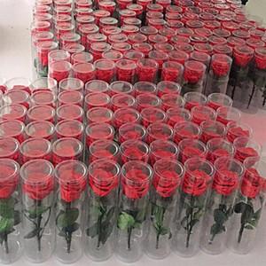 Nuovo design Fiore eterno Rosa Bouquet di fiori freschi reali Natale Regali di compleanno San Valentino Matrimonio Romantico matrimonio reale