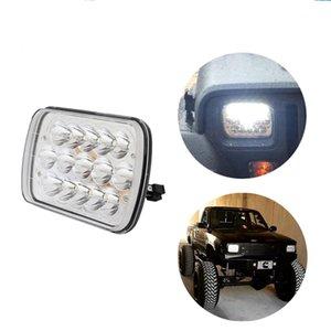 ECAHAYAKU 2 pcs 7 polegada quadrada 45W LED Luz de trabalho Bar Farol LampHigh / médios Car Styling Acessórios para o caminhão Offroad Cars