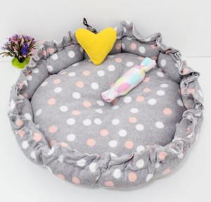 cat Dog estoque Pet sofá-cama macia e quente cão cama Almofada portátil Pet Puppy Cat Dog Casa de luxo pet dormindo pad cama