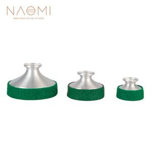 NAOMI 3PCS En Alliage D'aluminium Saxophone Muet Sax Amortisseur Sonore Pratique Silencieux Pour Saxophone Alto / Ténor / Soprano SET