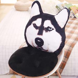 Forma di cane cuscino del sedile per la decorazione domestica cute cartoon sedia pad cuscino del sedile auto sedia da ufficio cuscino addensare stuoia natica almofada