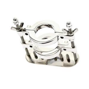 Private MKR908C-1 Нержавеющая сталь BALL SMASHER STRETCHER, Мошонка в носилке, Шариковый сплиттер с дробилкой, кольцевое кольцо