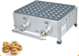 Gás takoyaki grill equipamentos gás comercial takoyaki duas placas que faz a máquina Estilo japonês Takoyaki máquina fabricante