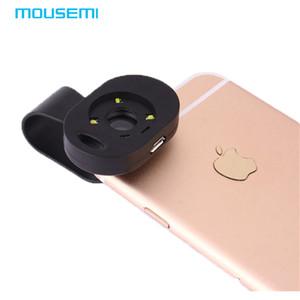Atacado 120x lente macro com luz led para iphone 7 6 5s câmera do telefone móvel macro lente para lentes de smartphones para xiaomi redmi