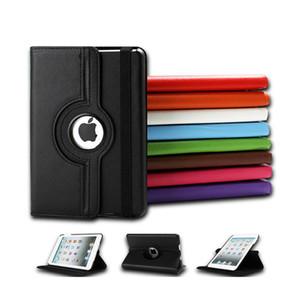 For iPad mini Case,360 Rotation Flip PU Leather Stand Case for iPad mini 1 2 3 Tablet Case for iPad mini 4