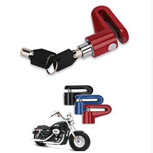 Moto vélo roue robuste frein à disque serrure de sécurité anti-voleur alarme motocyclette anti-vol disque disque frein rotor blocage