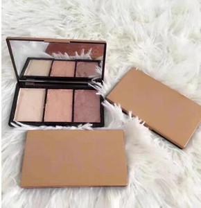 Spedizione gratuita Trucco di vendita calda Trucco di alta qualità Palette 3 colori Eyeshadow 4 I modelli possono essere selezionati