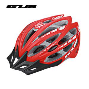 GUB 10 Farben Fahrrad Radfahren Helme 30 Vents MTB Rennrad Helm Männer Frauen Integral-Geformte Reflektierende Sicherheit Reithelme