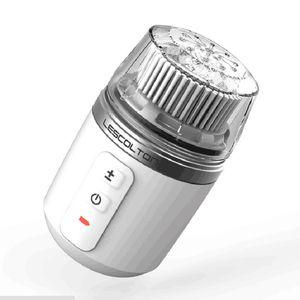 lescolton Kit de nettoyage en profondeur pour une brosse faciale imperméable à l'eau