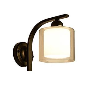 American Pastoral Village einzigen Scheinwerfer Schlafzimmer Studie Nachttischlampe Korridor Flur Nordic Art Lichter einstellbar