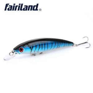 1 unids Minnow Fishing Lure 13.5g / 0.48oz 11cm / 4.3in Estilo clásico Minnow Bait de pesca Aparejos de pesca Envío gratis LURE