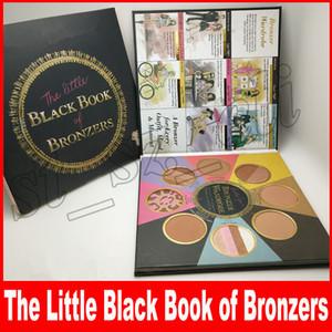 Nova Face Enfrentou Maquiagem 8 Cores o Pequeno Livro Preto de Bronzers Blush Bochecha Paleta de Pó Faces de Contorno Paleta de Contorno