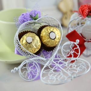 Romantik Külkedisi Arabası Şeker Çikolata Kutuları Kalp Şeklinde Çikolata Şeker Kutusu Düğün Favor Parti Dekor Hediye