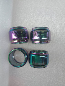 Arc-en ampoule prolongée Fat Boy remplacement Bubble Tube en verre Pyrex Horizon Falcon FREEMAX Fireluke Mesh Zeus Kylin Mini RTA réservoir