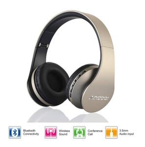 Digital 4 in 1 Andoer LH-811 Stereo Wireless Bluetooth 3.0 + EDR Headphone Headset & Wired Earphone with Mic MicroSD TF FM Radio