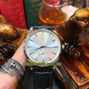 5 colori economici Luxry Master ultra sottile 1278420 quadrante argento vetro zaffiro Giappone Miyota automatico orologio da uomo cinturino in pelle da uomo orologi 02