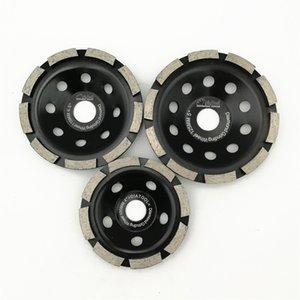 "DIATOOL 1pc Dia 4"" 100mm 4.5"" 115mm 5"" 125mm Diamond Single Row Grinding Cup Wheel Grinding Disc for concrete masonry"