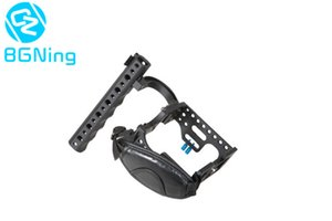 Aluminum Protective Frame Housing Case Camera Cage for Sony A7S2   A7R2 Mirrorless System Camera with Top Handle Grip Mount