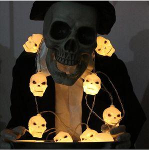 2018 Halloween decorazione helloween scheletro zucca lanterna 10pcs horror Pumpkin Lamp decorazione di feste ed eventi