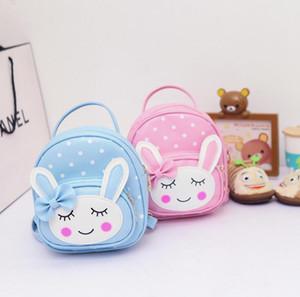 2018 Schoolbag Bebek sırt çantası Çocuk çantaları Anaokulu Öğrenci sırt çantası Çocuk çantası Tuval + Naylon Okul Çantaları Sevimli karikatür A15
