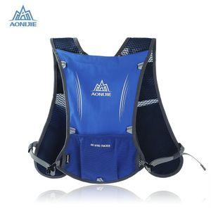 Оптово-Aonijie бег рюкзак 5л тропки сумка жилет Велоспорт бутылку воды гидратации рюкзак Спорт мешок на 1,5 л воды мешки