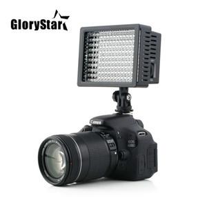 مجد ستار السلطة العليا Lightdow LD-160 160 ضوء LED كاميرا فيديو كاميرا مصباح مع ثلاثة فلاتر 5400K