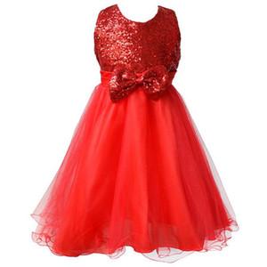 꽃의 소녀 드레스 어린이 드레스 어린이 결혼식 파티 드레스 아기 소녀의 드레스 크기 2-8 년